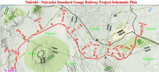Kenya Railways Announces The Proposed Route For Phase Two