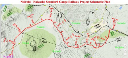 Kenya Railways Announces the Proposed Route for Phase Two of their SGR Project