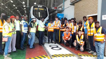 PRASA's X'Trapolis Trains - Trail Runs Due to Start in Mamelodi