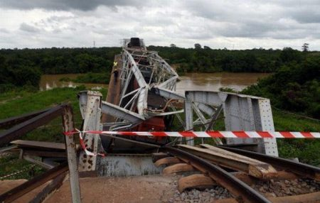 Rail Services Suspended due to Collapsed Bridge between Ivory Coast and Burkina Faso