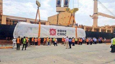 Rolling Stock For Kenya's Standard Gauge Line Arrives At Mombasa Port