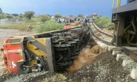 Train Derailment Claims Driver's Life in the North West