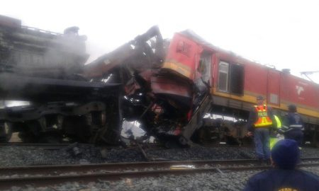 Train Driver Dies in Locomotive Collision in Kimberly