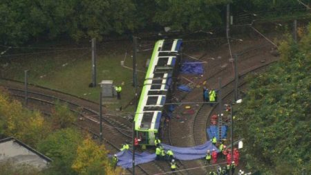 Tram Derailment in Croydon Claims Seven Lives