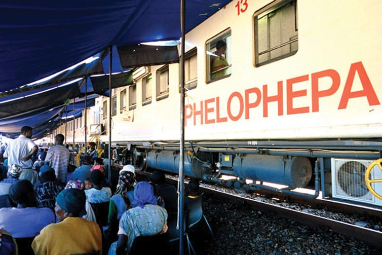 The Transnet-Phelophepa Health Care Train II Arrives In Empangeni, KZN